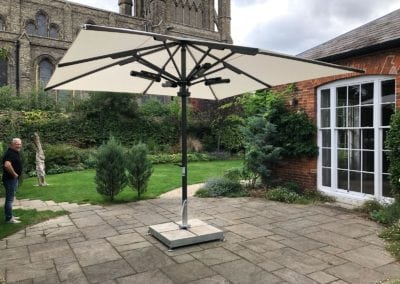 Bury St Edmonds Domestic Parasol