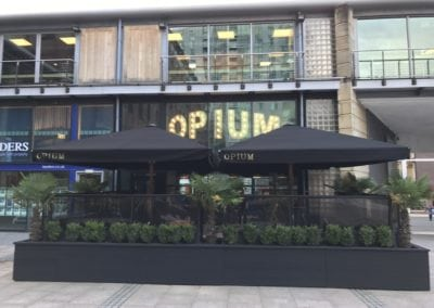 Ultra Strong Commercial Parasols Opium Manchester