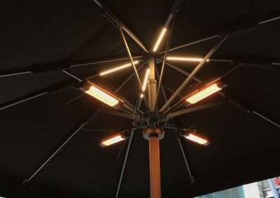 Giant Heated umbrella6